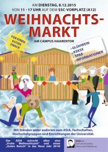 2015 AStA Weihnachtsmarkt-Plakat A5 Web